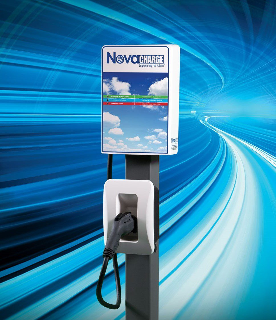 Novacharge Launches Nc 5000 Family Of Commercial And Residential Wiring Parallel Or Series Electric Vehicle Charging Stations
